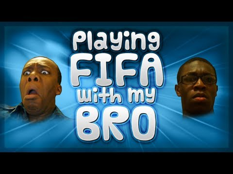 FIFA 12 | Playing FIFA with my Bro