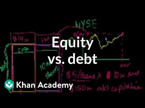 Equity vs. Debt