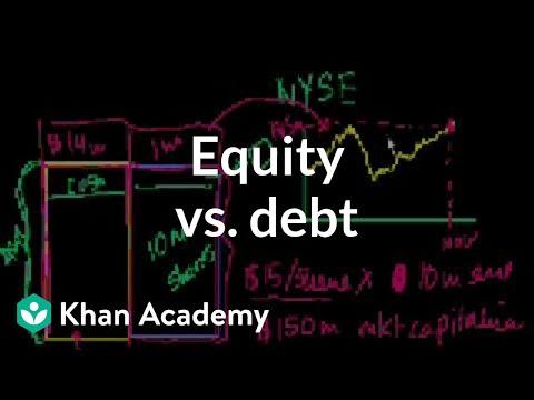 Equity vs. Debt