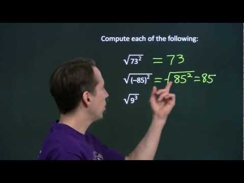 Art of Problem Solving: Square Root Introduction Part 1