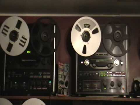 Teac X-2000R and X-1000R Reel to reel tape deck recorders searching for