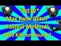 *NEW* Instant Max Rank Glitch - FASTEST METHOD! - Black Ops 2 Zombies