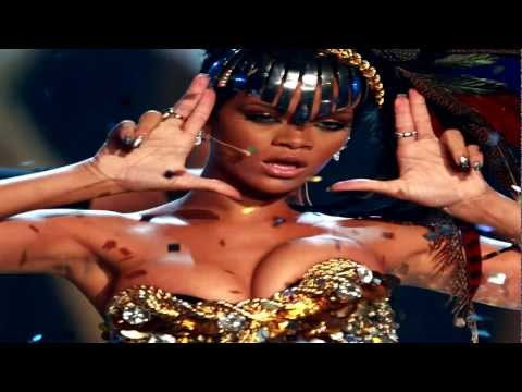 Rihanna You Da One Live Fly Nicki Minaj Super Bass American Music Awards 2011 AMA Farewell Lyrics