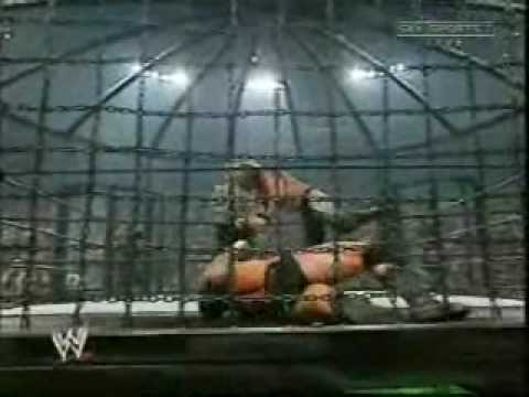 WWE Elimination Chamber at Summer Slam in 2003 Part 1