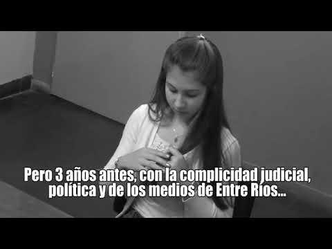 Difunden video en el que Nahir Galarza, a los 16 años, denuncia que fue violada