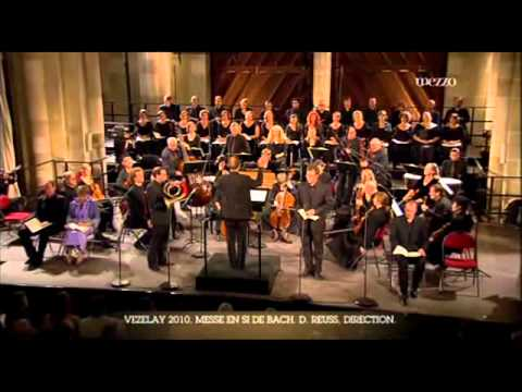 Quoniam Natural Horn  - VEZELAY 2010 - Messe en Si -  JS BACH