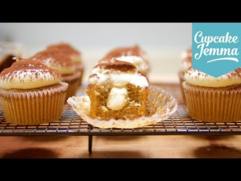 How to Make Tiramisu Cupcakes