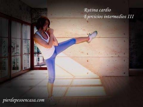 Rutina cardio, ejercicios intermedios III