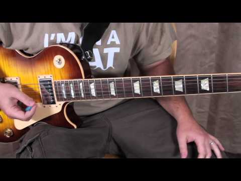 Santana - Oye Como Va - Guitar Lesson - How to Play - Santana style licks solo