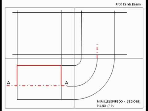 Parallelepipedo: sezione piano // PV