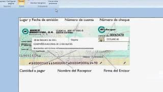 ¿Cómo llenar cheques usando autollenar formatos preimpresos con excel jfksoft?