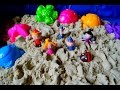 Маленькое королевство Бена и Холли Играем с кинетическим песком Новая серия на русском