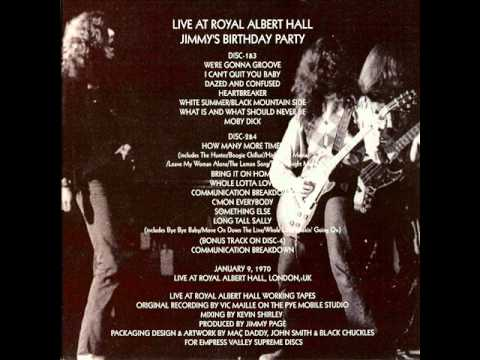 Something Else - Led Zeppelin (live London 1970-01-09)