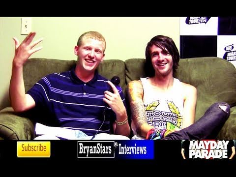 Mayday Parade Interview Derek Sanders Warped Tour 2010
