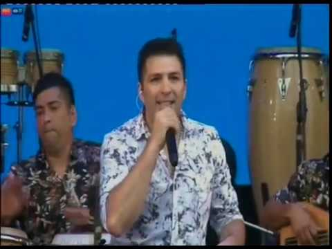 Los Bam Band llegaron con su cumbia al escenario de la Costanera