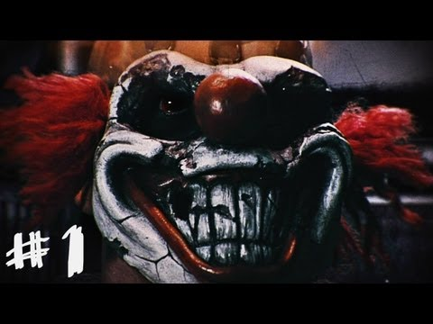 Twisted Metal Gameplay Walkthrough - Part 1 - Sweet Tooth Intro (Story Mode) [PS3]