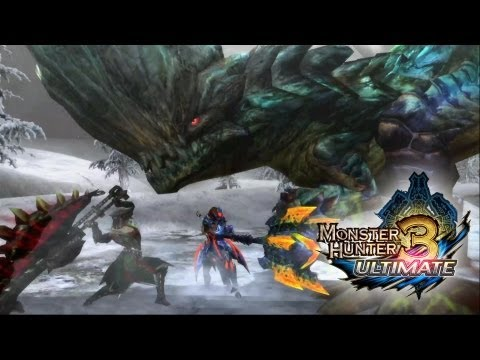 Monster Hunter 3 Ultimate, así son sus batallas