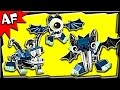 Lego Mixels GLOWKIES Series 4 Globert, Vampos, Boogly Stop Motion Build Review 41533 41534 41535
