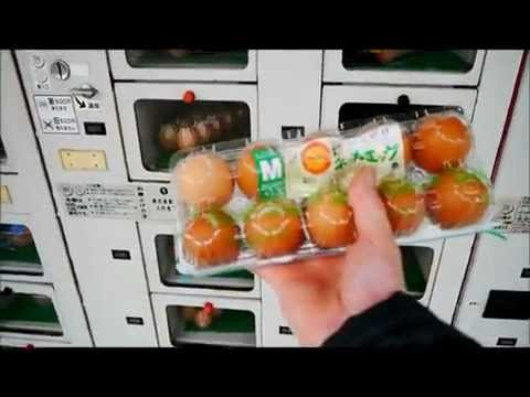 Japanese Egg Vending Machine Vends Eggs -- RocketNews24.