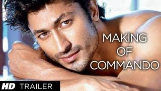 Making Of Commando Trailer | Vidyut Jamwal - The Action Hero