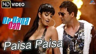 Paisa Paisa (HD) Full Video Song  De Dana Dan  Akshay Kumar, Katrina Kaif  Best Bollywood Songs