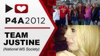 Project For Awesome 2012! - TEAM JUSTINE (National MS Society)