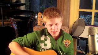 Me Singing Somewhere Only We Know by Keane GLEE version cover by Jaxn Odell