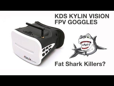 Kylin Vision FPV Goggles - Fat Shark Killers? - UCj8MpuOzkNz7L0mJhL3TDeA
