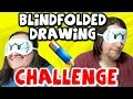 BLINDFOLDED DRAWING CHALLENGE