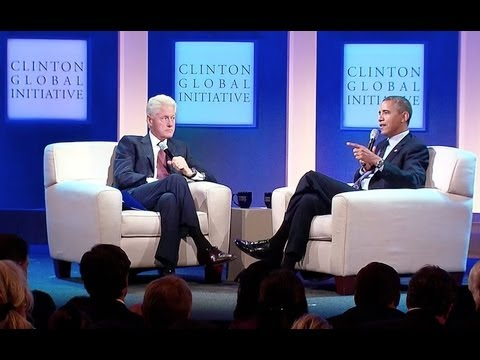 President Obama and President Clinton Discuss Health Care  9/26/13