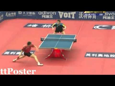 China National Championships 2012: Ma Long-Xu Xin
