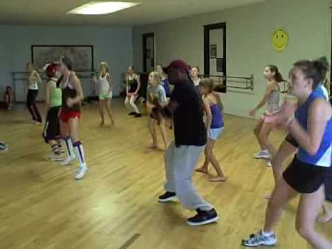 """Boom Bom Pow"" by Black Eyed Peas-- hip hop dance choreographed by jay j"