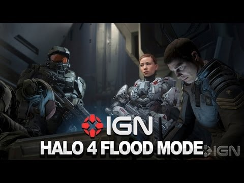 Halo 4 Flood Multiplayer Mode Walkthrough