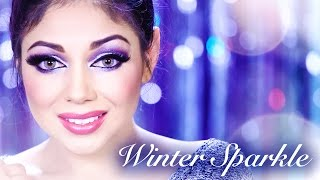 Winter Sparkle Makeup!