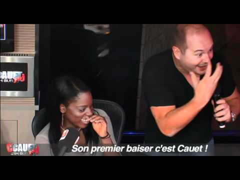 Son premier baiser c'est Cauet !