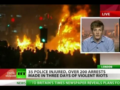 Riots Rage: Anarchy in UK as London turns into war zone
