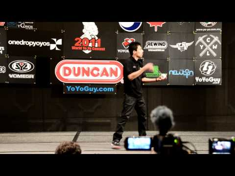 C3yoyodesign Present : World Yoyo Contest 2011 4A 2nd Bryan Figueroa