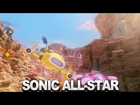 Sonic & All-Stars Racing Transformed - Comic-Con Trailer