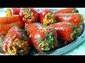 Фаршированный перец постный, цыганка готовит. Gipsy cuisine.🌶️