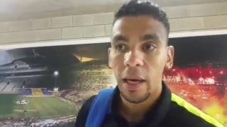 18/09/16 Interview De Camargo: After game