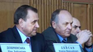 Из-за холода Рыжук раскритиковал бердичевский зал заседаний
