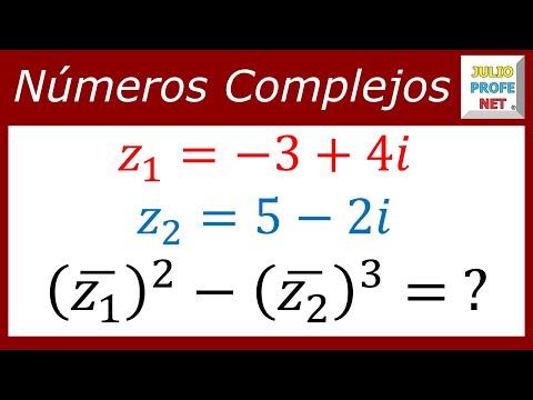 Ejercicio con números complejos