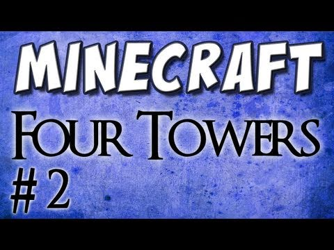 Minecraft: Four Towers (Custom Map) Part 2