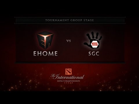 Dota 2 International - Group Stage - EHOME vs SGC