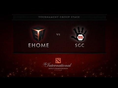 Dota 2 International - Group Stage - EHOME vs SGC