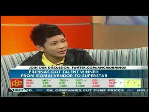 Jovit Baldivino at Morning ANC Special Interview 2-1, June 14, 2010