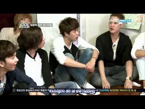 {SINAQ} 120914 MBLAQ Idol Manager Ep 5 (3/3)