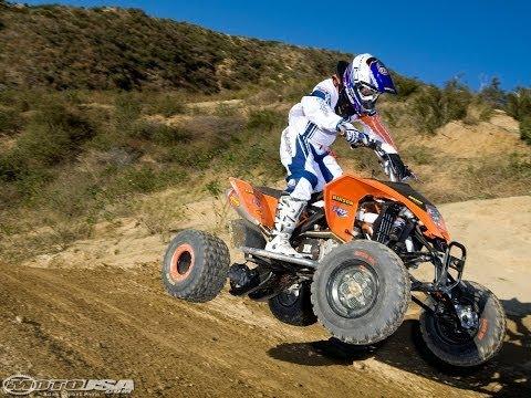 2009 KTM 450 SX ATV Review