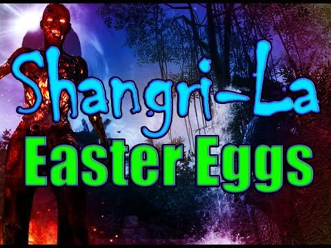 Shangri-la Zombies: Easter Egg Compilation (Time Travel Will Tell Achievement)