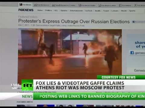 Riot Wrong: FOX fakes Moscow protest with Athens clashes